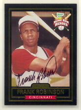 FRANK ROBINSON AUTHENTIC AUTOGRAPHED SIGNED HILLSHIRE FARMS CARD NM-MINT (502Ef)