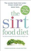 Sirt Food Diet, Paperback by Goggins, Aidan; Matten, Glen, Brand New, Free sh...