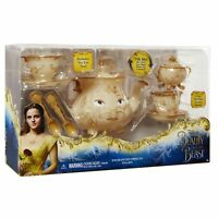 Brand New Disney's Beauty and the Beast Enchanted Objects Tea Set
