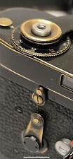 Leica M2 M3 M4 M6 MP Black Paint Brass Release Bezel