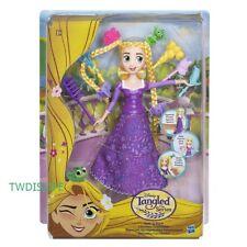 Muñeca Disney Princesa Enredados nunca después de la serie Spin 'N' Estilo Cabello Rapunzel