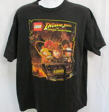 LEGO Indiana Jones The Original Adventures T-Shirt, Black, XL, GREAT GRAPHICS!