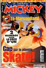 LE JOURNAL DE MICKEY n°2612 & 2573 ¤ 2002 ¤ NEUF SOUS BLISTER