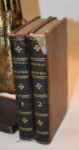 Poema Epica - Tasso: JÉRUSALEM DÉLIVRÉE 2 vol 1792 Ed Francese in Carta Azzurra