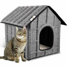 Cat House Insulated Foldable Pet House Indoor/Outdoor