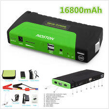 12V 16800mAh Car Jump Starter Portable Battery Power Bank Pack Booster Charger