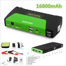 12V 16800mAh Car Jump Starter Portable Battery Power Bank Pack Booster Charger