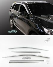 Chrome Window Visor Sun Rain Vent Guard K-622 Silver 4P for KIA Sorento 2016~19