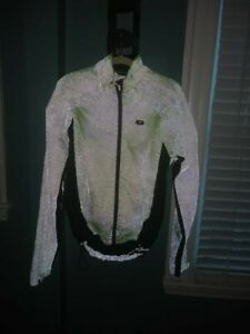 Sugoi Full Reflective Convertible Cycling Rain Jacket - Men's XL - lightly used