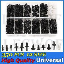 350pcs Car Push Retainer Trim Clip Panel Moulding Pin Rivet Assortment Kit 12siz