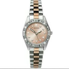 Sekonda Ladies' Two Tone Rose and Silver Colour Watch.