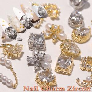 3D Nail Rhinestones Nail Jewelry Nail Charm Zircon DIY Nail Art Decoration