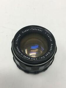 Asahi Pentax Super Takumar 50mm f1.4 8 Elements M42 #1156104