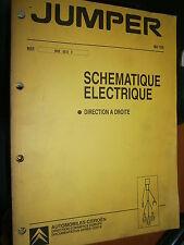Citroën JUMPER : schémas électrique 1995 - DIRECTION A DROITE