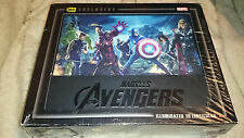 Marvel Avengers Assemble 3D+2D+DVD+Digital Lighted Lithograph Case Blu-Ray Seale