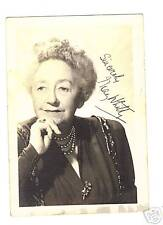 May Whitty-signed photo-This is a Vintage photo