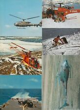 Helicopters Aircraft 27 Vintage Postcards pre-1970