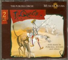 Don Quixote - The Musical - The Purcell Circle - Musica Oscura 2CD NEW/SEALED