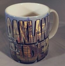 Oakland Raiders Coffee Mug Cup with Helmet & Text 1995 Xpres Corp
