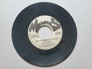 """James Spencer - Prenez This Woman Off The Coin 1970 Memphis Funk 7 """" Promo NM"""