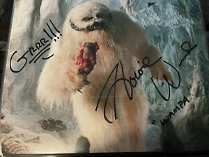 Howie Weed Autographed 8x10 Star Wars Wampa