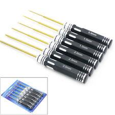 RC Tool hex screw driver Set Titanium Plating Hardened 0.9 1.3 1.5 2.0 2.5 3.0mm