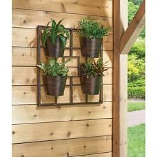 Vertical Garden Grid Planter Plant Greening Wall Growing Container Outdoor Diy