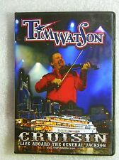 LIKE NEW DVD Tim Watson Cruisin' Live Aboard General Jackson Souvenir Fiddler