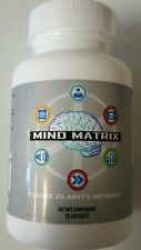 Mind Matrix for Focus Clarity Memory Dietary Supplement 30 Capsules EyeFive