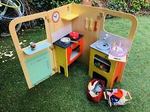 Cuisine pour Enfants Jouets Bois Lot Cuisine, +Accessoires