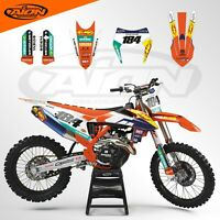 KTM Graphics Kit for a 2020 - 2021 EXC EXCF XCW XCFW Decals kit with rider ID
