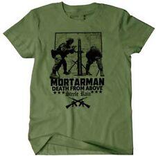 USMC Combat Veteran T-Shirt Mortarman 0341 Infantry Assaultman Steel Rain War