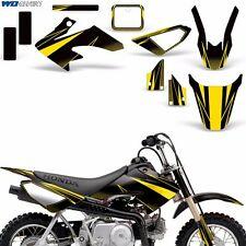 Graphic Kit Honda CRF 50 F MX Dirt Pit Bike Decals w/ Backgrounds CRF50 04-13 RS