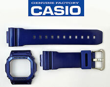 CASIO G-Shock original WATCH BAND & Bezel METALLIC BLUE  G-5600CC GWM-5610CC
