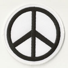 Ecusson transfert patche thermo hotfix Peace and Love patch brodé