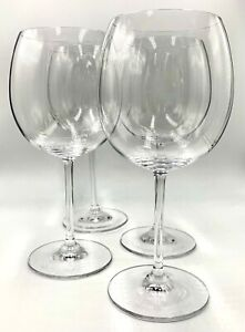 SET OF 4 WATERFORD CRYSTAL BALLOON WINE GLASSES, VINTAGE, MARQUIS, EXCLNT COND