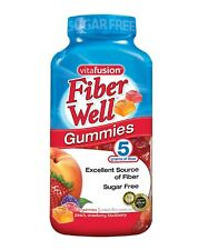 Vitafusion Fiber Well Gummy Vitamin Supplement 220 CT Gummies - Sugar Free