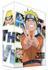 NEW NARUTO THE MOVIES 3in1 SPECIAL DVD-BOX Limited Number | From Japan F/S