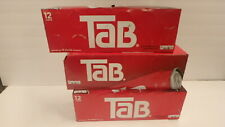 3 12 PACK TAB SODA POP SOFT DRINKS EXPIRES MAY 2021