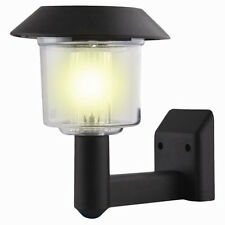 Solar Powered Wall Light Auto Sensor Fence LED Garden Yard Fence Lamp Outdoor MW