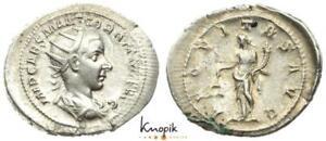 Römische Kaiserreich, Gordian III. Pius, Antoninian 239, Rom, RIC 34, 5,10g.