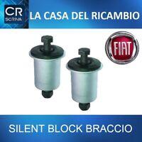KIT 2 SILENT BLOCK BOCCOLA BRACCIO OSCILLANTE POSTERIORE PANDA 169 -4X4 DA 2003>