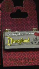 Disneyland Park Retro Ticket Book Hinged Disney Pin 77743