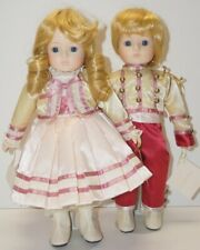 """GORHAM Porcelain MUSICAL DOLLS ~ Kimberly & Kyle ~ 13"""" ~Close to You & Love Song"""