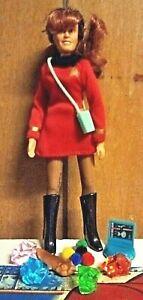 "Mego / Retro Star Trek Red Lieutenant Marla Mcgivers 8"" Custom Figure & More"