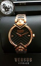 Genuine Versus Versace gold tone stainless steel Bracelet Watch Boxed Fast Deliv