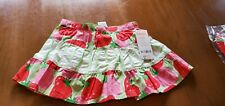 New W/ Tag Gymboree Girl Sz 18-24Mo Strawberry Sweetheart Skirt W/ Diaper Cover