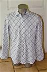 chemise bleue à carreaux black label HUGO BOSS taille 39 - 15 1/2 (M) ÉTAT NEUF