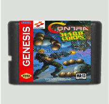 Contra The Hard Corps 16 Bit Game Card For Sega Mega Drive & Sega Genesis