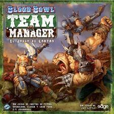 Blood Bowl Team Manager. Juego de cartas de fútbol americano de estrategia